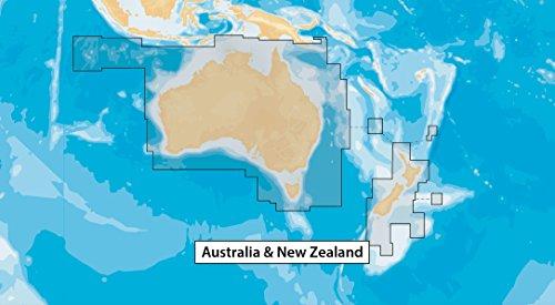 Navionics Plus PLN50XG Australia & New Zealand Marine & Lake Charts on SD/MSD (Meer-sd-karte)