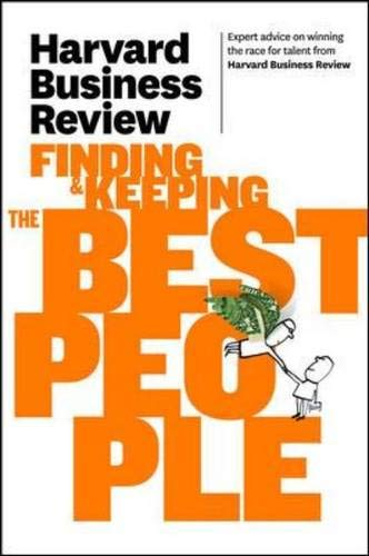 Harvard Business Review on Finding & Keeping the Best People (Harvard Business Review Paperback Series)