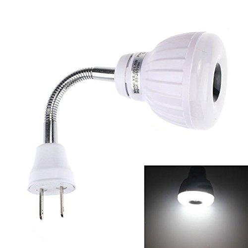 DIKHBJWQ Wechselstrom 110V 220V 5W Light Pir Infrarot Tischlampe Nachttischlampe Sensor Nachtlicht Bewegungsmelder Glühbirne Pw Lichterketten
