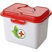 Kreative Multi-Zelle tragbare Medizin Kit Reise Medical Box, rot preisvergleich bei billige-tabletten.eu
