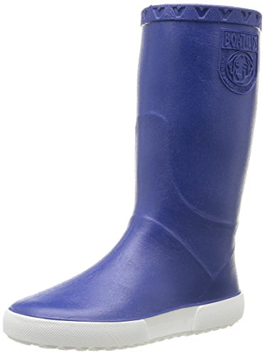 Boatilus Unisex-Kinder Nautic Stiefel & Stiefeletten, Blau (Bleu Cobalt Bubble Gum/Blanc), 28 EU -