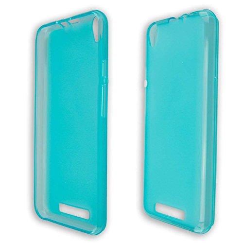 caseroxx TPU-Hülle für Archos Core 55 4G, Tasche (TPU-Hülle in hellblau)