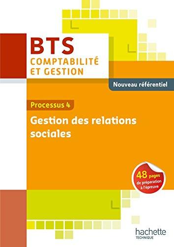 P4 Gestion des relations sociales BTS CG Ed 2015 par Régine Bloy