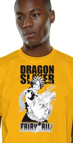 Fairy Tail - Dragon Slayer Natsu T-Shirt Gr. S Tee Original & (Slayer Kostüm Dragon)