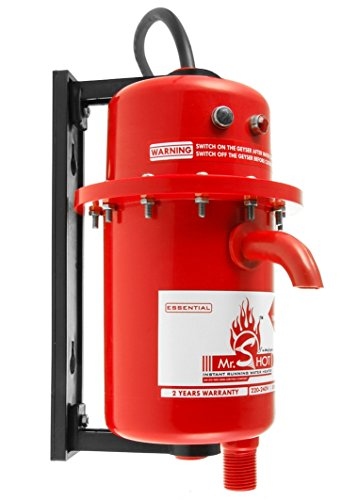 Mr.SHOT INSTANT RUNNING WATER HEATER COLOUR RED