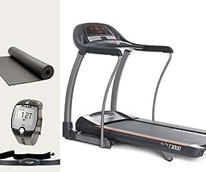 Horizon Fitness Laufband Elite T3000 - Polar Brustgurt und Bodenmatte