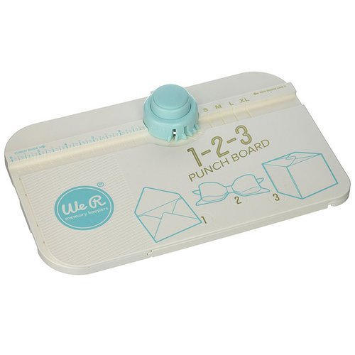 We R Memory Keepers 123 Punch Board 662530 (Cut-karte Die)