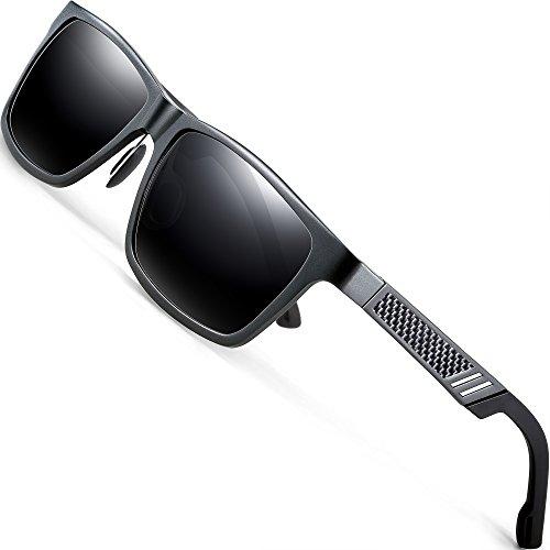 ATTCL Hombre polarizado gafas sol Al-Mg marco Metal
