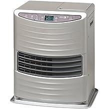 Zibro Lc 30 Stufa a Combustibile Elettronica, portatile, 3000 W, Argento, da 19m2-48m2, senza installazione, termostato regolazione giornaliera (Ricondizionato) )