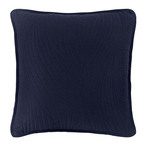 Brielle Stream Solid Euro Sham, Weiß Square Toss Pillow - 16