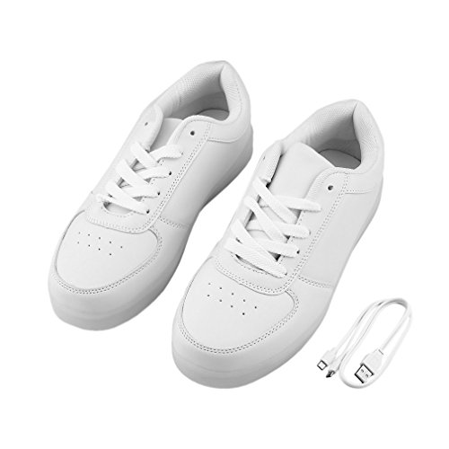 Shoes Responsible Plus Size Us6.5 To Us13 Casual Shoes Men Light Luminous Shoes Led Light Shoes Working Sport Mens Fashion Breathable Shoes Suitable For Men And Women Of All Ages In All Seasons Men's Casual Shoes