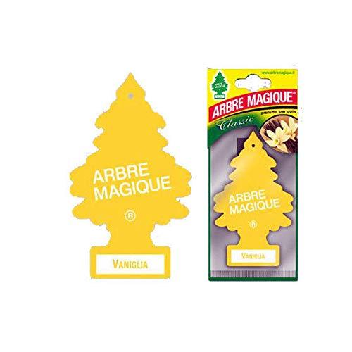 Arbre Magique Deodorante per Auto, Profumazione Prolungata fino a 7 Settimane (3 PEZZI, VANIGLIA)