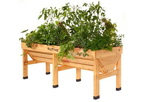 Price comparison product image Manufactured for DEMA VegTrug Wooden Raised Bed, 180 CM