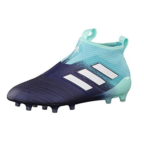 adidas Herren ACE 17+ Purecontrol FG Fußballschuhe blau/weiß/Shock pink, 43 1/3 EU