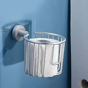 style contemporain anodisation aluminium fix au mur distributeurs de papier toilette amazon. Black Bedroom Furniture Sets. Home Design Ideas