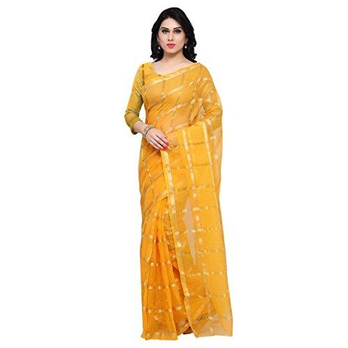 Rajnandini Cotton Saree (Joplsrs1075G_Yellow)