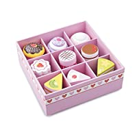 New Classic Toys - 10626 - Kitchen & Food Toys - Cake/Pastry Assortment in Gift Box - 9-Piece