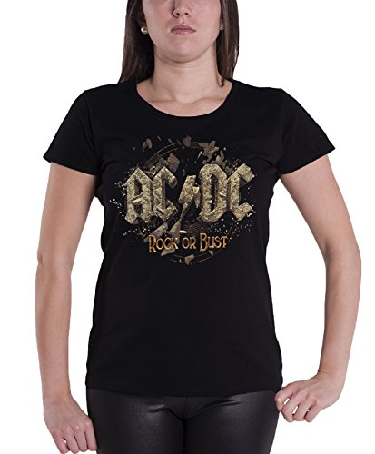 AC/DC - Top - Maniche corte  - Donna nero Medium