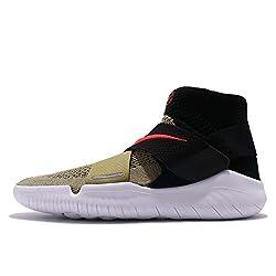 NIKE Free RN Motion FK 2018 Herren Running 942840 Sneakers Turnschuhe (UK 10 US 11 EU 45, neutral Olive Bright Crimson 200)