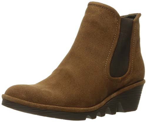 Bottines - Boots, couleur Marron , marque FLY LONDON, modÚle Bottines - Boots FLY LONDON PHIL Marron Marron-Noir
