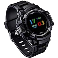 GOKOO GPS Watch, Outdoor Sports Smart Watches for Men Bluetooth Smartwatch Pedometer Compass Altimeter Watch Fitness Tracker Smart Watch for Android IOS Phone