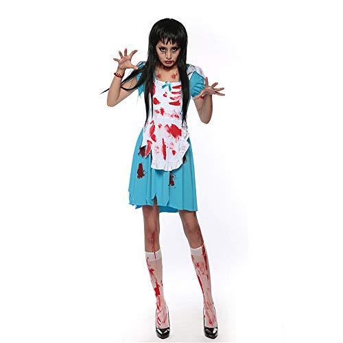 Erwachsene Kostüm Dark Zombie Für - GAOJUAN Halloween Cosplay Kostüm Erwachsene Cosplay Weibliche Vampire Zombie Maskerade Dark Ghost Braut Prinzessin Kostüm Anzug Geeignet Für Karneval Thema Parteien Halloween