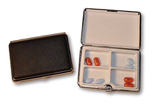 budd-leather-company-large-leather-4-section-pill-box-black-48-ounce-by-budd-leather