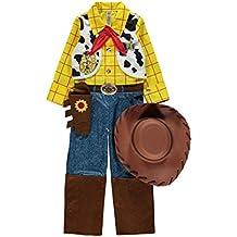 Disney Pixar Toy Story Woody fancy dress 3-4yrs Boys Cowboy Costume with Hat, Necktie & Sheriff's Star by George