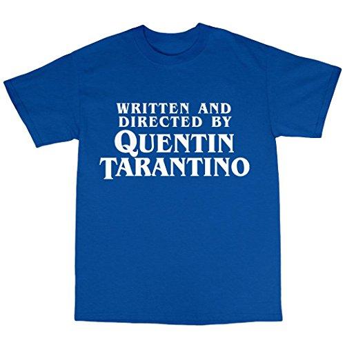 Quentin Tarantino Tribute T-Shirt 100% Baumwolle Königsblau