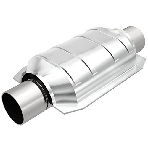 MagnaFlow 447206 Large Stainless Steel CA Legal Universal Fit Catalytic Converter by Magnaflow