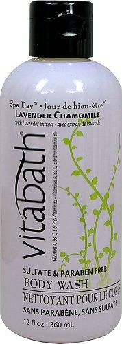 Vitabath Bath and Shower Gel, Lavender Chamomile, 12 Ounce by Vitabath (Vitabath Gelee)