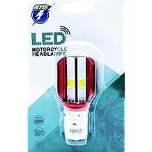 LEDPremium 1x BOMBILLA LED BA20d 35/35W S2 12V Hi/Lo Motorcycle Headlamps COB