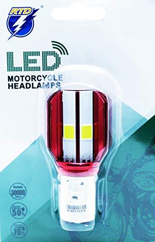 ledpremium 1x lamparas BA20D 35/35W S212V Hi/Lo Motorcycle headlamps COB LED Honda