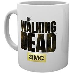 The Walking Dead–Taza de cerámica (–Amc Logo–Se envía en una caja de regalo
