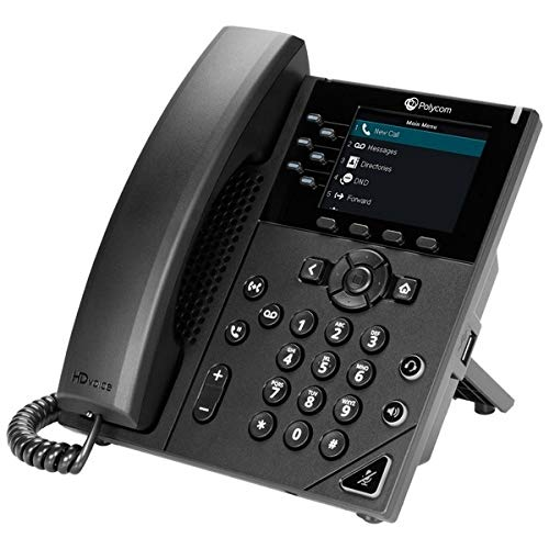 Polycom VVX 350 Business IP Phone - VoIP - SIP, SDP, 2200-48830-025 par  Plantronics