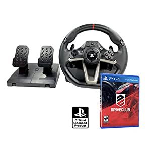 PS4 Lenkrad und Pedale Orig. Licensed PlayStation 4 RWA Apex + Driveclub