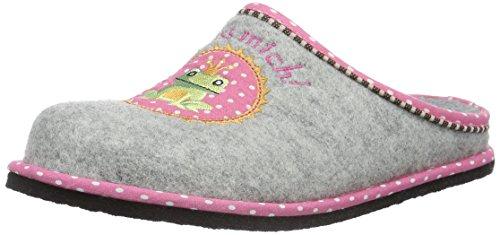 softwaves Damen Hausschuh Pantoffeln, Grau (200 Grey), 39 EU