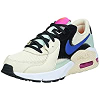 Nike Air Max Excee Women's Athletic & Outdoor Shoes, Multicolour (Fossil/Hyper Blue-Pistachio Frost), 38.5 EU