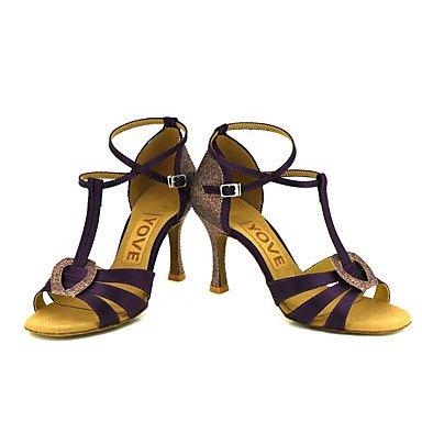 Xiamuo Mulheres Personalizáveis sapatos De Dança Profissionais Nu