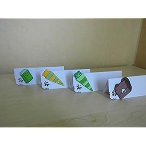 10 Stück Tischkarten Platzkarte Einschulung
