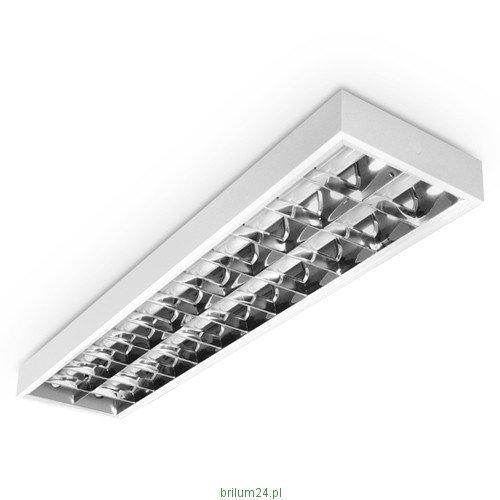 LED Rasterleuchte, LED Einbauleuchte, Rastereinlegeleuchte, LED Bürolampe, 2x20W T8 LED, Schnellmontage, Deckenleuchte, Bürobeleuchtung (OHNE T8 Leuchtmittel)