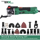 SLB Works NEWONE Multi-Function Oscillating Power Tools For Wood & Metal Cutting With Different Saw Blades Set And Packs. Color Wood X Metal 40pcs