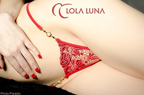 LOLA LUNA String ROXANNE S M L XL Rot