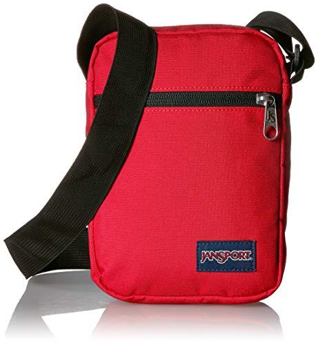 Weekender Cross Body (JANSPORT Weekender Crossbody Mini Bag Red Tape)