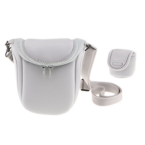 MagiDeal Shockproof Camera Case Bag for Sony LCS BBF NEXF3 NEX5R NEX5N NEX7 H9 for Nikon 1V1 1J1 J2 Grey  available at amazon for Rs.990