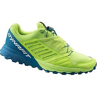 Dynafit Alpine Pro Shoes Men Fluo Yellow/Mykonos Blue Schuhgröße UK 9 | EU 43 2019 Laufsport Schuhe