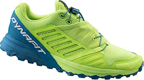 Dynafit Alpine Pro Shoes Men Fluo Yellow/Mykonos Blue Schuhgröße UK 9 | EU 43 2019 Laufsport Schuhe