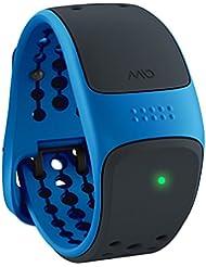 Medisana Mio velo Cycling–Moniteur de fréquence cardiaque (Noir, Bleu, Silicone)