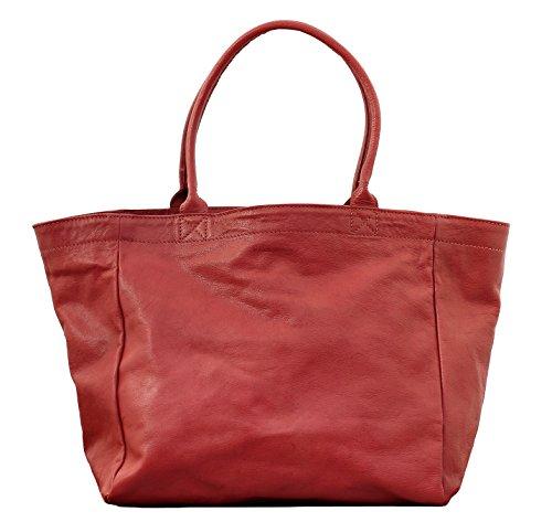 MON PARTENAIRE M Corail cabas en cuir sac à main style vintage PAUL MARIUS