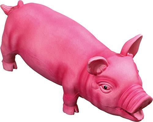 FLAMINGO Latex Cochon Jouet pour Chien Rose 33 cm